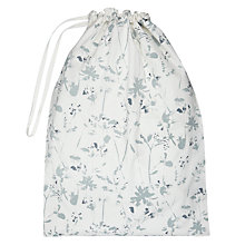 Buy John Lewis Croft Collection Floral Laundry Bag Online at johnlewis.com