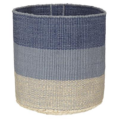 John Lewis Coastal Striped Hamper