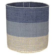 Buy John Lewis Coastal Striped Hamper Online at johnlewis.com