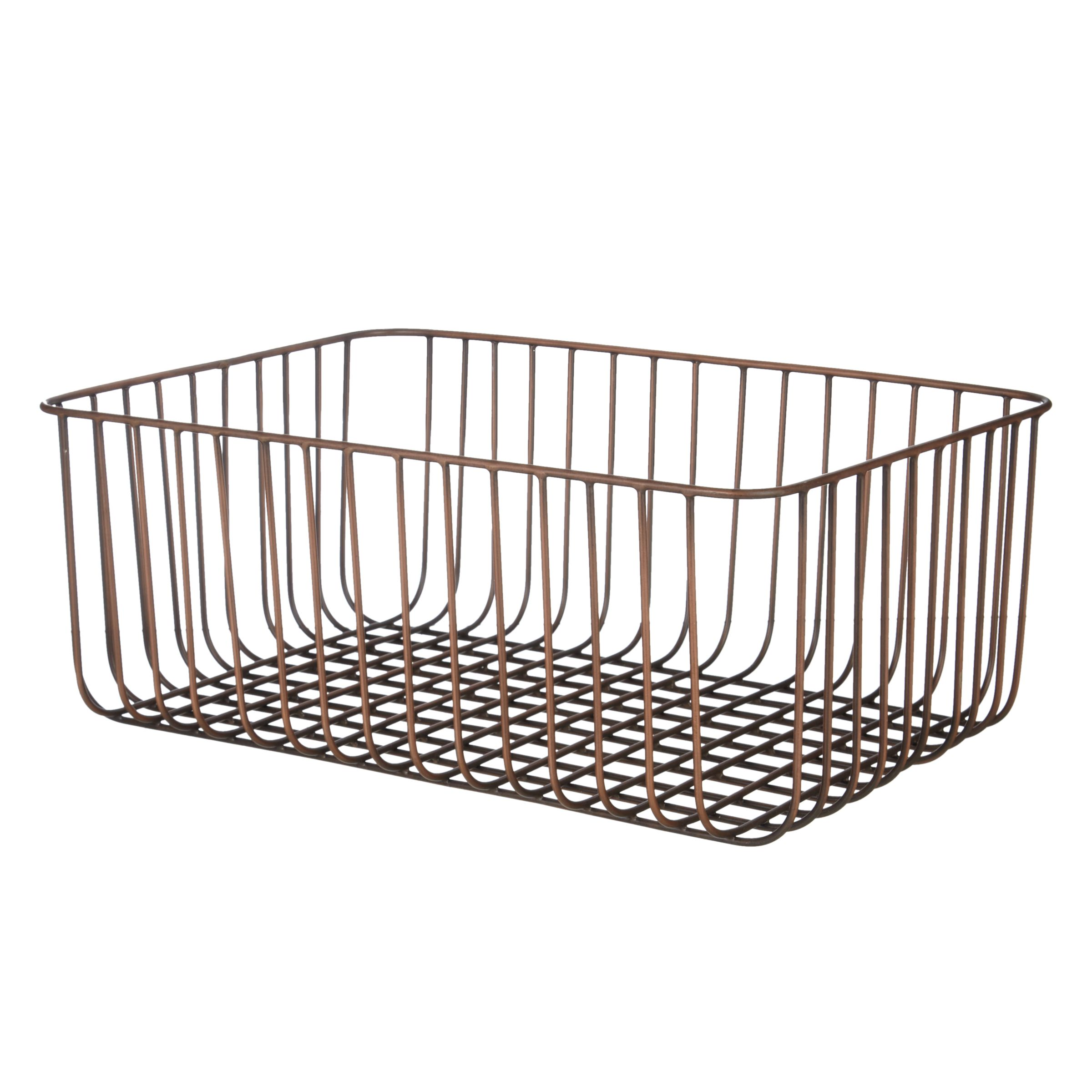 Buy John Lewis Fusion Antique Copper Wire Basket Online at johnlewis.com
