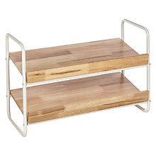 Buy House by John Lewis 2 Tier Shoe Rack Online at johnlewis.com