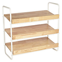 Buy House by John Lewis 3 Tier Shoe Rack Online at johnlewis.com