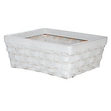 Buy John Lewis Rattan Weave Storage Basket, Large Online at johnlewis.com