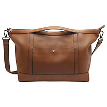 Buy Mulberry Multitasker Calfskin Holdall, Tan Online at johnlewis.com
