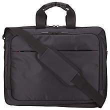 Buy John Lewis Commute Business Bag, Black Online at johnlewis.com