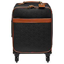 Buy Mulberry Scotchgrain 4-Wheel Cabin Suitcase Online at johnlewis.com