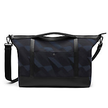 Buy Mulberry Multitasker Camo Canvas Holdall, Blue Dazzle Online at johnlewis.com