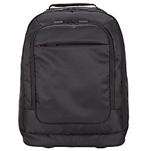 Buy John Lewis Commute Wheeled Laptop Backpack, Black Online at johnlewis.com