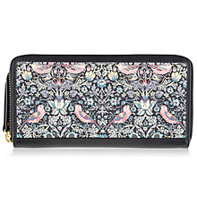 Buy Radley William Morris Collection Large Leather Matinee Purse, Multi Online at johnlewis.com