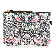 Buy Radley William Morris Collection Leather Pouch, Multi Online at johnlewis.com