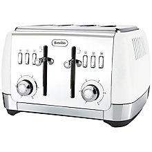Buy Breville VTT76 Strata 4-Slice Toaster Online at johnlewis.com
