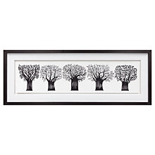 Buy Charlene Mullen - Forest Of Trees, Framed Print, 39 x 103cm Online at johnlewis.com