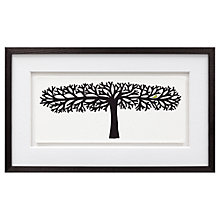 Buy Charlene Mullen - Long Tree, Framed Print, 30 x 50cm Online at johnlewis.com