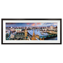 Buy Henry Reichold - Thames From Victoria Tower, 43 x 130cm Online at johnlewis.com