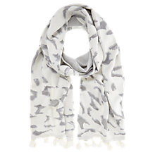 Buy Mint Velvet Animal Jacquard Scarf, Multi Online at johnlewis.com