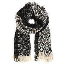 Buy Mint Velvet Folk Weave Scarf, Multi Online at johnlewis.com
