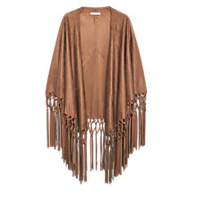 Buy Mango Fringed Cape Online at johnlewis.com