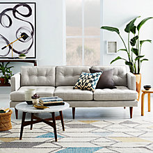 Buy west elm Peggy Sofa Range Online at johnlewis.com