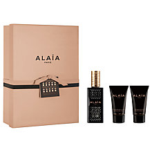 Buy ALAÏA Paris 50ml Eau de Parfum Gift Set Online at johnlewis.com