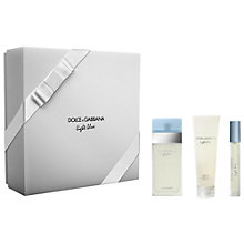 Buy Dolce & Gabbana Light Blue 50ml Eau de Toilette Gift Set Online at johnlewis.com
