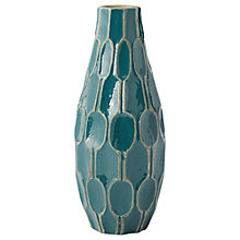 Buy west elm Honeycomb Tall Teardrop Vase Online at johnlewis.com