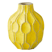 Buy west elm Honeycomb Short Shoulder Vase Online at johnlewis.com