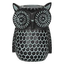 Buy John Lewis Fusion Owl Stone Tealight Holder Online at johnlewis.com