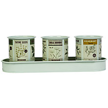 Buy Magpie Roots & Shoots Herb Pots Online at johnlewis.com