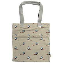 Buy Sophie Allport Pheasant Print Book Bag Online at johnlewis.com