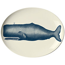 Buy ThomasPaul Scrimshaw Whale Oval Tray Online at johnlewis.com