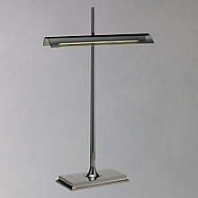 Buy Flos Goldman Table Lamp, Nickel/Smoke Online at johnlewis.com