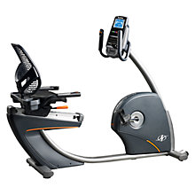 Buy NordicTrack Elite R110 Recumbent Exercise Bike, Grey/Black Online at johnlewis.com