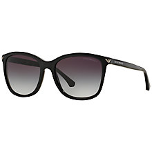 Buy Emporio Armani EA4060 Square Sunglasses Online at johnlewis.com