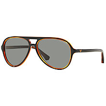 Buy Emporio Armani EA4063 Aviator Sunglasses Online at johnlewis.com