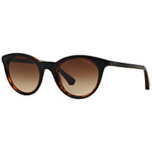 Buy Emporio Armani EA4061 Round Sunglasses Online at johnlewis.com