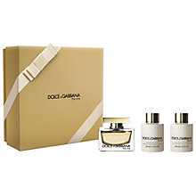 Buy Dolce & Gabbana The One 75ml Eau de Parfum Gift Set Online at johnlewis.com