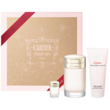 Buy Cartier Baiser Volé 100ml Eau de Parfum Gift Set Online at johnlewis.com