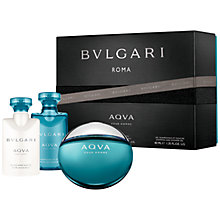 Buy Bvlgari Aqva Pour Homme 50ml Eau de Toilette Gift Set Online at johnlewis.com
