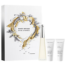Buy Issey Miyake L'eau D'issey 50ml Eau de Toilette Gift Set Online at johnlewis.com