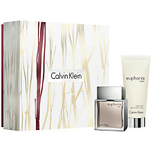 Buy Calvin Klein Euphoria Mens 50ml Eau de Toilette Gift Set Online at johnlewis.com
