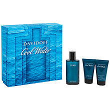 Buy Davidoff Cool Water 75ml Aftershave Gift Set Online at johnlewis.com