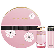 Buy Prada Candy Florale 50ml Eau de Toilette Gift Set Online at johnlewis.com