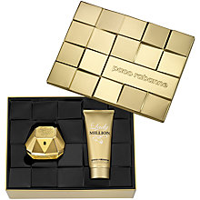 Buy Paco Rabanne Lady Million 80ml Eau de Parfum Gift Set Online at johnlewis.com