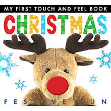 Buy Little Tiger Kids 'My First Touch and Feel Christmas' Book Online at johnlewis.com