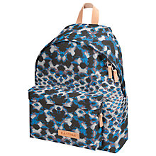 Buy Eastpak Padded Print Backpack, Blue Online at johnlewis.com