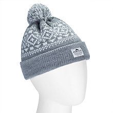 Buy Penfield Fairton Beanie Bobble Hat, Grey Online at johnlewis.com