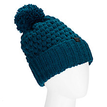 Buy Numph Laura Knit Bobble Hat, June Bug Online at johnlewis.com