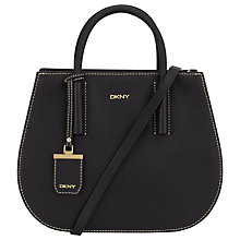 Buy DKNY Bryant Park Woven Edge Round Shopper Bag Online at johnlewis.com