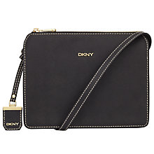 Buy DKNY Bryant Park Woven Edge Saffiano Leather Across Body Bag Online at johnlewis.com