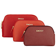 Buy DKNY Bryant Park Saffiano Leather 3 Pouches, Multi Online at johnlewis.com